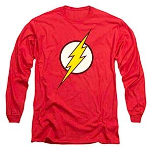 The Flash emblem long sleeve shirt